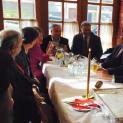 Κοπή της πρωτοχρονιάτικης πίτας της τοπικής Νέας Δημοκρατίας στην Κόνιτσα