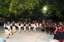 Το χορευτικό του Λυκείου Κόνιτσας στο Κεράσοβο.